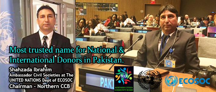 Most Trusted Name for National & International Donors – Shahzada Ibrahim